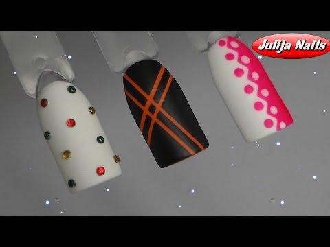 Капли на ногтях гель-лаком Masura