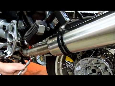 BMW R 1150 GS   R SCARICO GPR ISTRUZIONI GPR EXHAUST SYSTEM FITTING INSTRUCTIONS