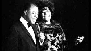 "~ ELLA FITZGERALD AND LOUIS ARMSTRONG ~ ""They Can`t Take That Away From Me"""