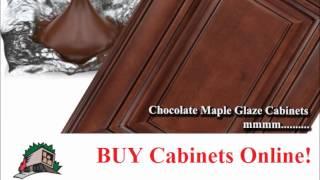 French Vanilla Glaze Kitchen Cabinets