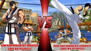 mugen kof kim kaphwan mouser vs kim jae hoon 119way youtube mugen kof kim kaphwan mouser vs kim jae hoon 119way