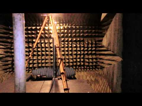 Testing antennas in the anechoic chamber (outreach video for first grade class)