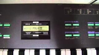 Yamaha DX-27 - FM synth programming 1