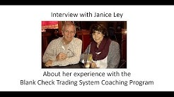 Blank Check Trading System Results With Janice Ley