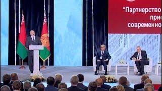 Лукашенко: смысл подлинной свободы слова не только в возможности выбора, но и в ответственности