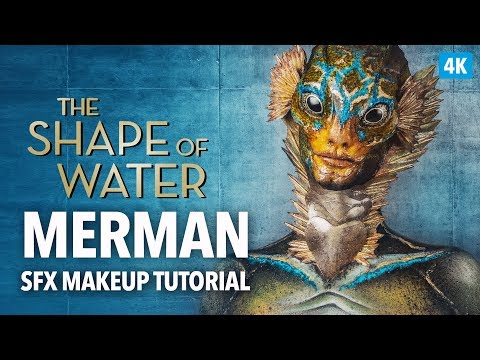 The Shape Of Water SFX Makeup Tutorial