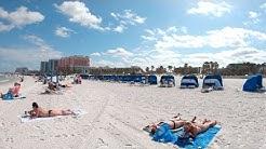 Clearwater Beach, Florida, USA   Walking Tour