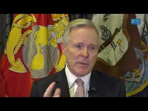 Navy Secretary Mabus on Battle with OSD Over 2018 Budget Request, Goldwater-Nichols Reforms