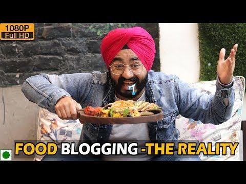 FOOD BLOGGING- The REALITY (Parody) | Mr.Param