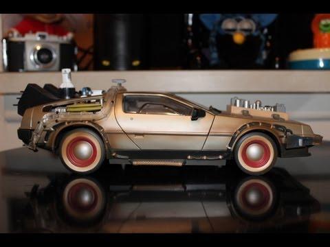 Rare Back To The Future Toy Car Replica Film Delorean 1 15 Scale