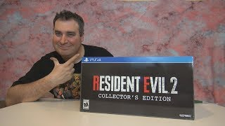 RESIDENT EVIL 2 Remake Collector's Edition Unboxing !!!