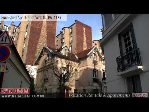 Video tour of a furnished apartment on rue Santos-Dumont (Po