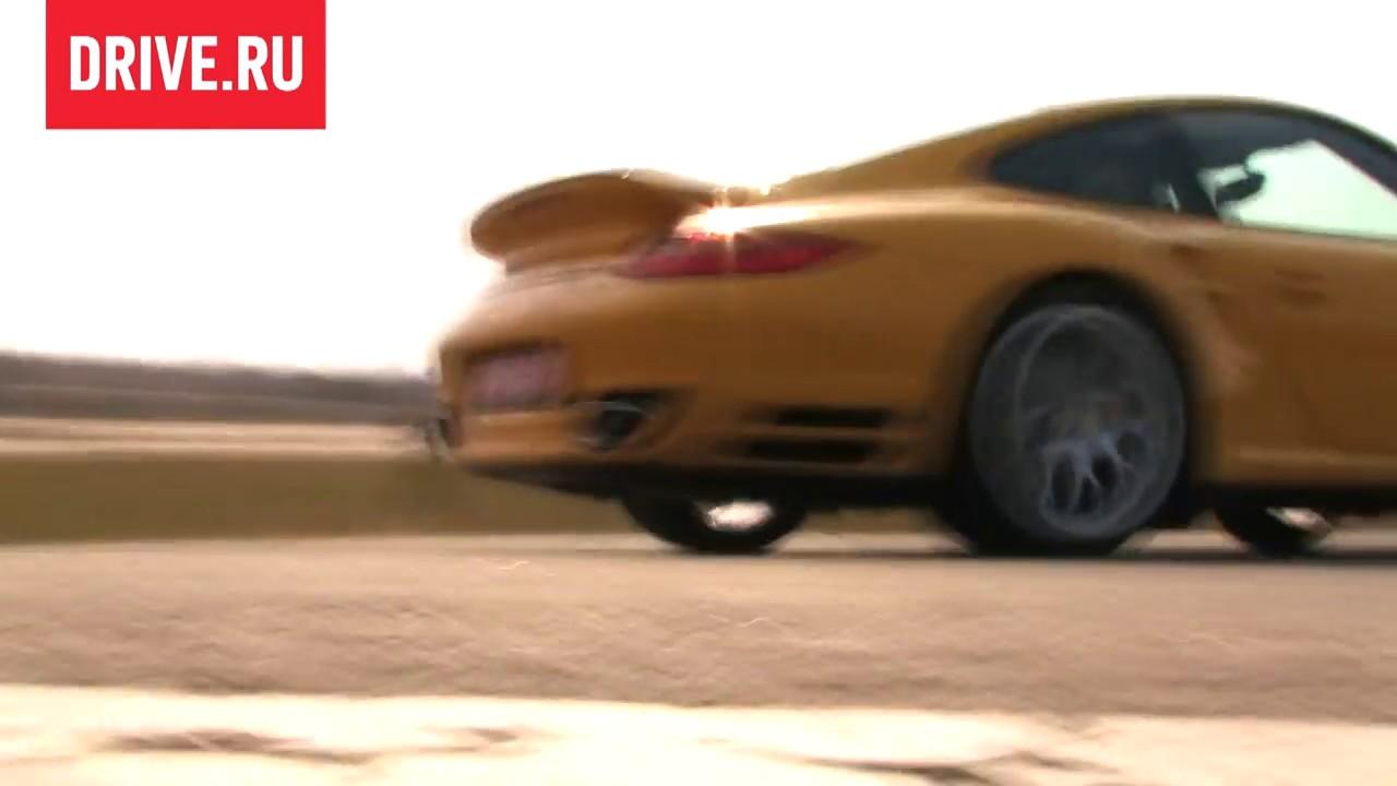 Porsche 911 Turbo — За кадром