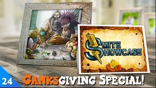 SMITE Showcase - The 2015 Ganksgiving Special! (Episode 24)