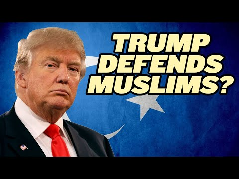 Trump Administration Defends Chinese Muslims?