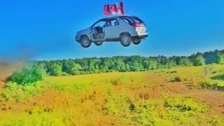 BACKWARDS Buick JUMP!