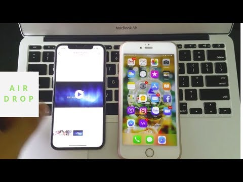 How to transfer data between iPhone, Macbook, Windows, Android device via Airdrop