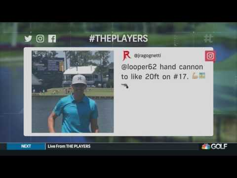 Watch: Caddie throws ball onto No. 17 green from tee at TPC Sawgrass before Players Championship