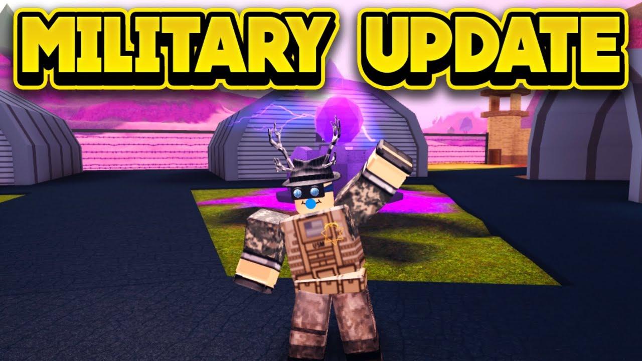 NEW MILITARY UPDATE! (ROBLOX Jailbreak)