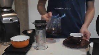 03 Métodos de preparo de café: Aeropress