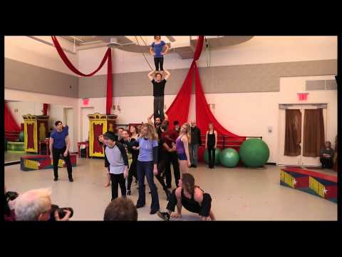 "Join Patina Miller, Matthew James Thomas and the High-Flying Cast of ""Pippin"" in Rehearsal"