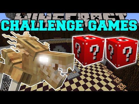 Minecraft: ALIEN BUG CHALLENGE GAMES - Lucky Block Mod - Modded Mini-Game
