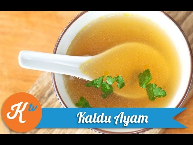 Resep Kaldu Ayam Chicken Stock Mirepoix Recipe Video Youtube