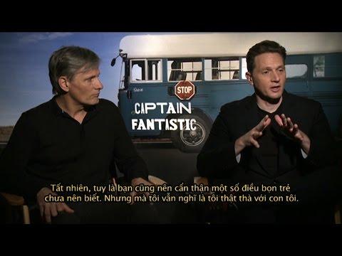 Director Matt Ross & Actor Viggo Mortensen for 'CAPTAIN FANTASTIC' (2016)