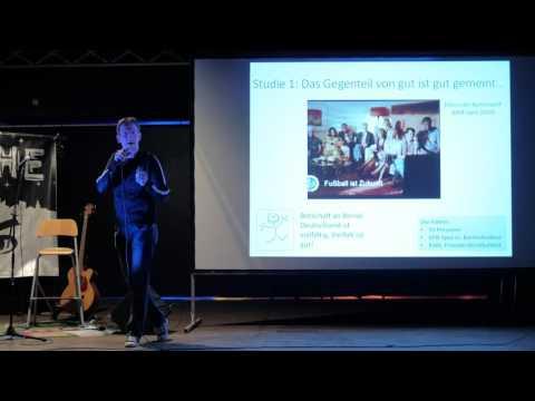ScienceSlam mit Dr. Frank Asbrock: Wer hat Angst vorm schwarzen Mann?