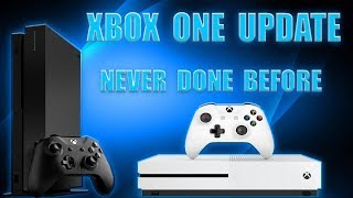 MASSIVE Xbox One Update Adds All New Feature That No Other Console Does! THE FIRST TIME EVER!