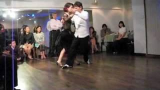 23-Dic-2011 X'mas junko igarashi y Kaichi Ogino en estudio La Cumpa...