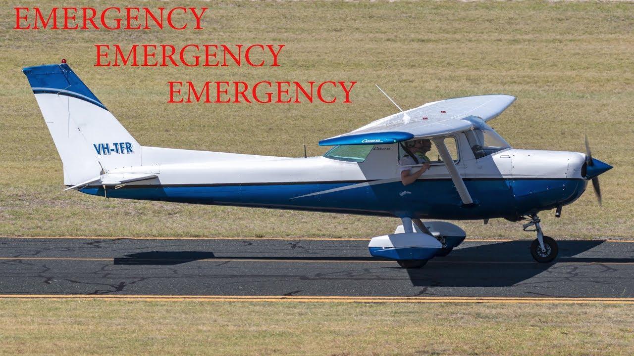 information] Trainee pilot makes emergency landing at