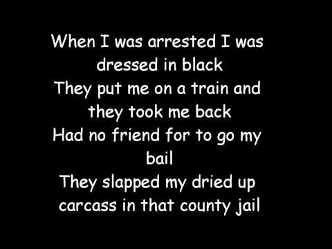 Johnny Cash - Cocaine Blues Lyrics