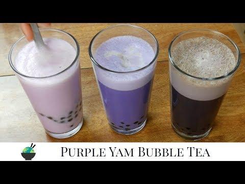 Ube Boba Milk Tea & Ube Spice Latte, Three Ways (Vegan) | Filipino Ube Recipes