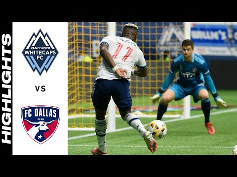 Vancouver Whitecaps Dallas Goals And Highlights