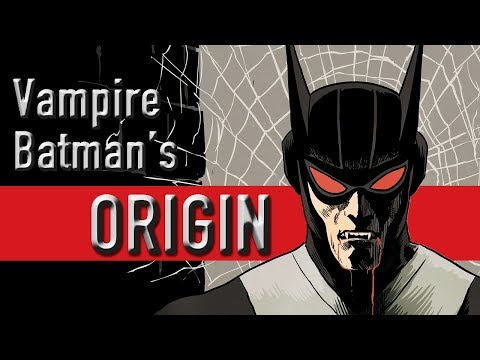 Vampire Batman's Origin (Kirk Langstrom Gods And Monsters)