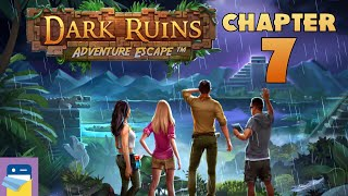 Adventure Escape: Dark Ruins - Chapter 7 Walkthrough, The Temple - iOS/Android (by Haiku Games)