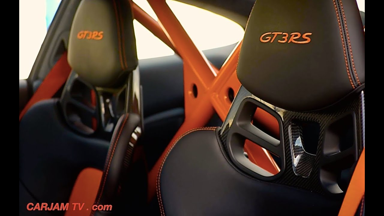 Porsche 911 Gt3 Rs Interior 2016 Exterior Walk Around Porsche 991