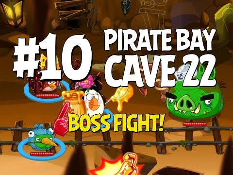 Angry Birds Epic Cave 22 Boss Fight! Level...