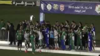 لقطة الأسبوع ، تتويج الرجاء بكأس شمال أفريقيا لسنة 2015 2017 Video