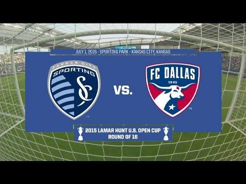 2015 Lamar Hunt U.S. Open Cup - Round Of 16: Sporting Kansas City Vs. FC Dallas