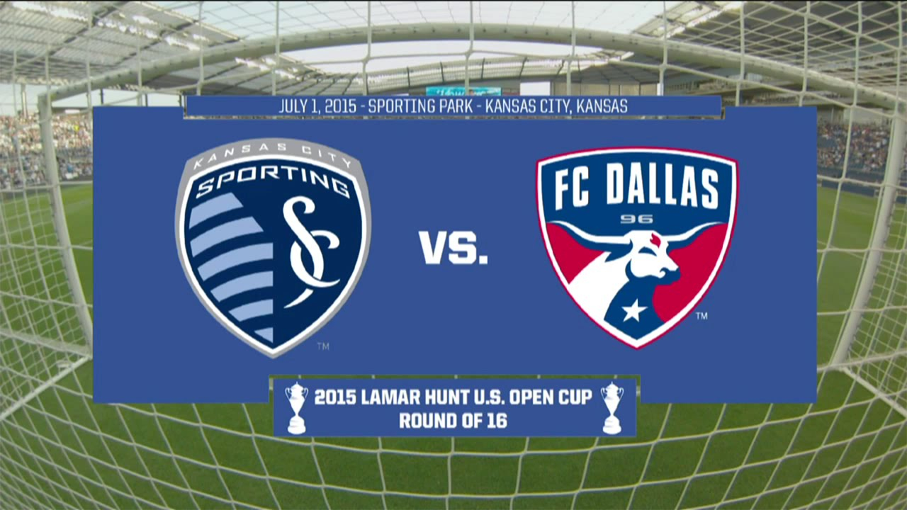 91ce2ae4f855 2015 Lamar Hunt U.S. Open Cup - Round of 16  Sporting Kansas City vs. FC  Dallas