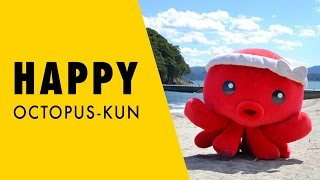 Pharrell Williams - HAPPY (OCTOPUS-KUN, Japan)Minamisanriku mascot character