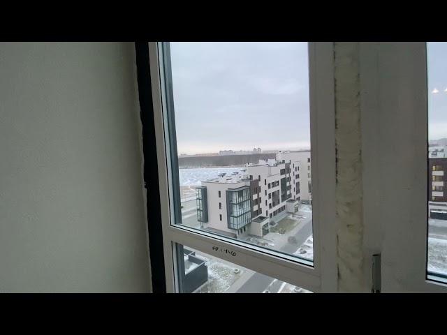 Смотреть видео Замена остекления @ Героев, 30
