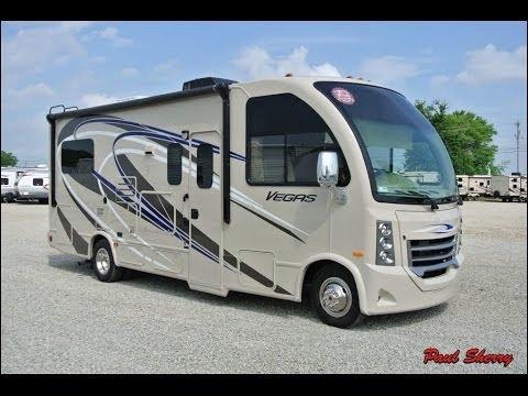 2015 thor motor coach vegas 24 1 walk thru 7366 viyoutube for Thor motor coach vegas