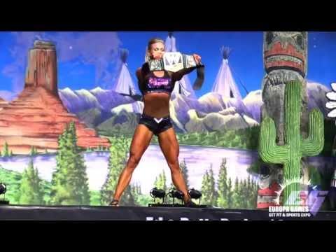 2015 Phoenix Europa Games IFBB Women's Fitness winner, Bethany Wagner!