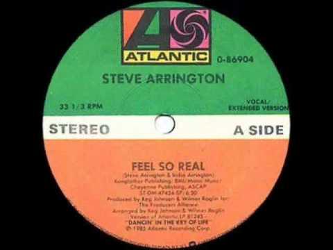Steve Arrington -- Feel So Real (Vocal / Extended Version)