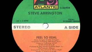 Steve Arrington -- Feel So Real (Vocal / Extended Version)