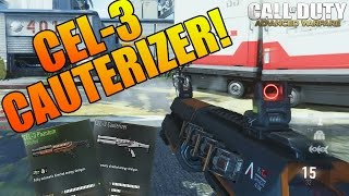 cod aw new dlc weapon cel 3 cauterizer gameplay is it overpowered or balanced