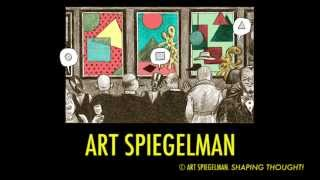Jan10: An introduction to WORDLESS! Art Spiegelman